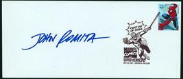 John Romita Sr SDCC Spider-man USPS FDI First Day Issue DC Super Hero St... - $49.49