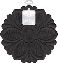 Talisman Designs No-Slip Grip Hot Pad, Black, Pot Holder, Spoon Rest, Ja... - $10.68