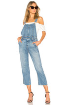$248 GRLFRND Alek Slouchy Tomboy Overall THE WILD ONE Denim Jeans Small  - $199.97
