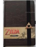 Legend of Zelda Hyrule Map Hardcover Writing Journal Notebook Licensed N... - $22.28