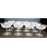 Twelve Waterford Tall Sherbets  Low Champagnes - Alana Pattern - $284.99