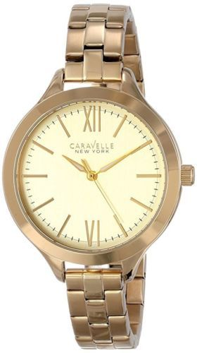 Primary image for Pre-owned Caravelle New York Women's 44L127 Stainless Steel Watch