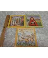 Lot 3 Children's Books Peter Rabbit, 3 Billy Goats Red Easy To-Read Fol... - $8.90