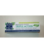Kiss My Face Triple Action Toothpaste Gel Fluoride Free Cool Mint 4.5 oz... - $13.80