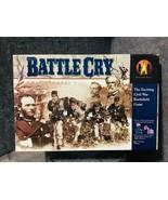 Battle Cry Civil War Battlefield Board Game Avalon Hill 1999 - $87.12