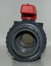 American Granby Inc ITUV 125SE 1 1/4 Inch PVC Blocked True Union Ball Valve image 2