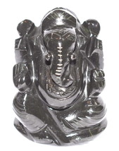Ganesha in Black Jade - 171 gm - $65.00