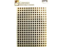 Cornish Heritage Farms Fine Gingham Backgrounder Rubber Stamp #SL-3179WUM