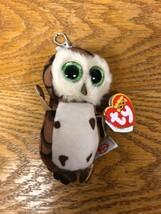 Ty Teenie Beanie Boo's Sammy The Owl 2016 Backpack Keychain Clip A2 - $14.95