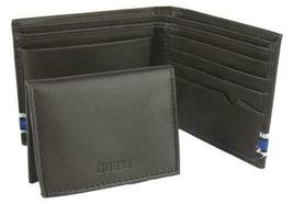 Guess Men's Leather Wallet Passcase Billfold Credit Card Id 31GU220003 image 4