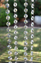 5m Hanging Beaded Garland Wedding Centrepieces Decoration Shabby Table Décor DIY - $13.37