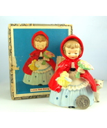 Napco Little Red Riding Hood nursery rhyme cera... - $38.00