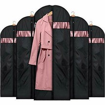 Garment Bags for Storage(5 Pack 60 inch) 60 inch - Oxford Fabric - £22.09 GBP