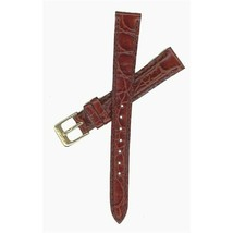 Seiko 13mm Brown Croco Grain Strap SHIPSFREE - $20.00