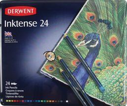 Derwent Inktense 24 Ink Pencils [New & Sealed !!!] - $38.99