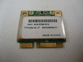 Acer T77H032.02 AR5BHB63 Aspire One 751H Wifi Mini PCI-E 802.11ABG Wirel... - $5.20