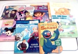 Lot Of 8 Children's Story Book's Ages 2 And Up My Little Pony & More - $13.86