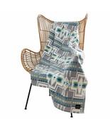 Pendleton Home Collection Grey Multicolor Aztec 50x70 Harding Luxe Throw... - $44.90