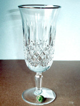 Waterford Kelsey Platinum Crystal Iced Beverage Glass 10 oz. 104373 New - $69.90