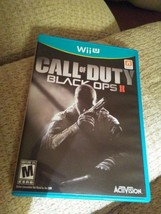 Call of Duty: Black Ops II (Nintendo Wii U, 2012) - $18.95