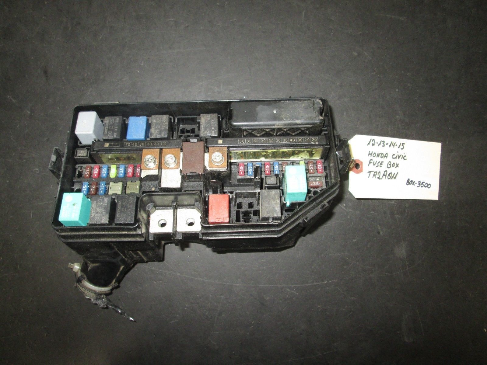 Primary image for 12 13 14 15 HONDA CIVIC FUSE BOX #TR2A011