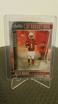 2019 Panini Absolute Football Introductions #13 Kyler Murray RC Insert - $3.95