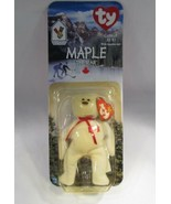 Maple The Bear 1997 McDonald's TY Beanie Baby With Tag Errors C2804 - $22.63