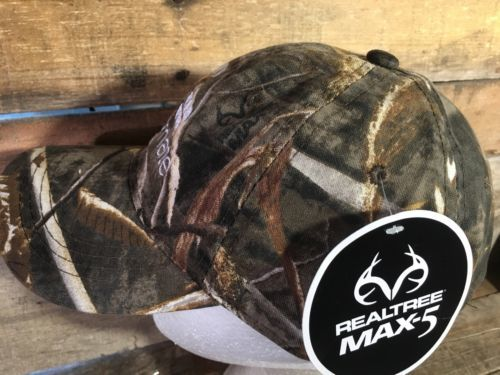 FOODMATE Poultry Processing Realtree Camouflage Adjustable Adult Hat Cap