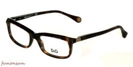 Dolce & Gabbana Damen Brille D&g DD1214 502 Braun Havanna Rechteckig Rahmen - $87.21