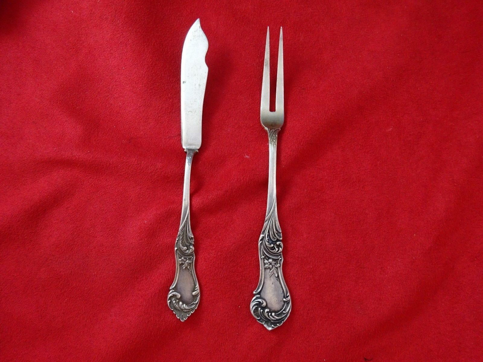 Chantilly by Gorham Sterling Silver Pickle Fork Long 3-tine 8 1//4/""