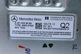 Mercedes Herman Becker Amplifier Amp A2518209589 A-251-820-95-89 image 7
