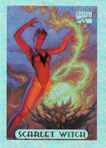 Marvel Masterpieces Holofoil 7 of 10 - Scarlet Witch - $1.15