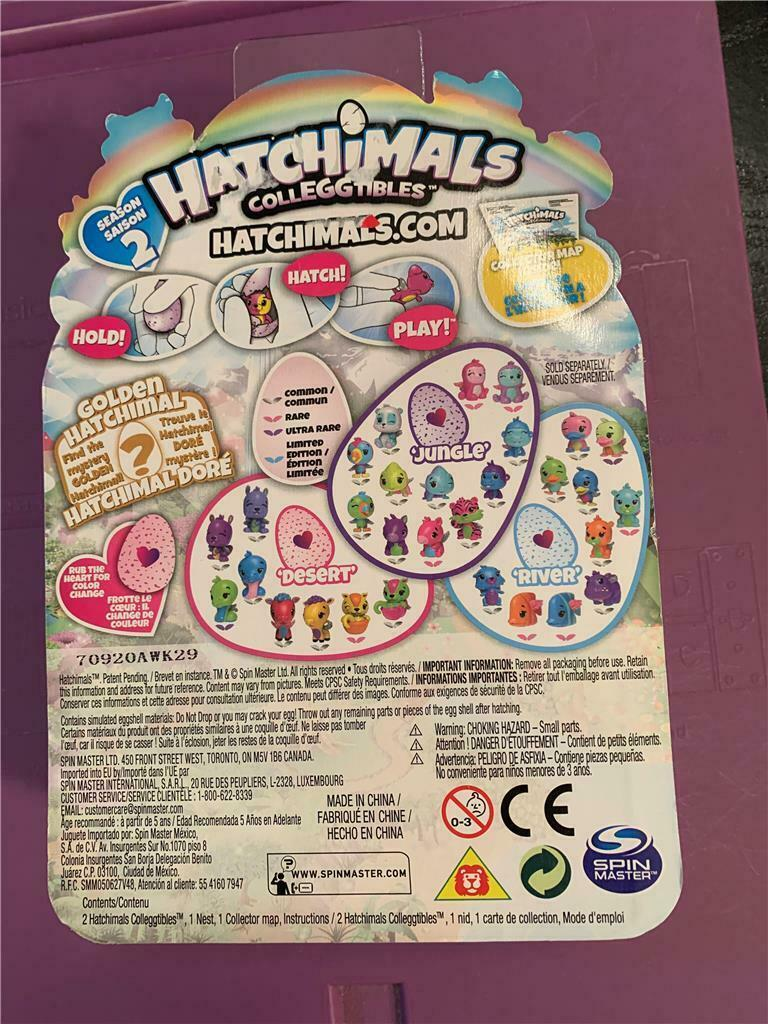 Hatchimals Colleggtibles 2 pack + Nest Season 2- New
