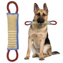 Dog Training Bite Tug Toy Jute For K9 Schutzhund Dogs Pet Playing Chewin... - $42.50