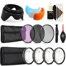 58mm Filter Kit with Accessory Kit for Canon EOS 77D , 80D , 760D and 1300D - $49.99