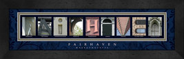 Fairhaven, Massachusetts Framed Letter Art - $39.95