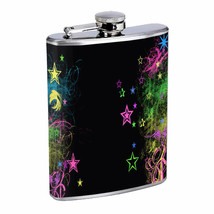 Star Bright Em1 Flask 8oz Stainless Steel Hip Drinking Whiskey - $279,96 MXN