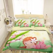 3D Cute Girl 296 Bed Pillowcases Quilt Duvet Cover Set Single Queen King Size AU - $64.32+