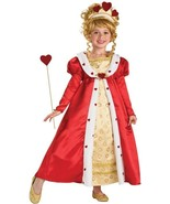 Royal Red Hearts Princess Complete Costume ~ Gown, Wand, Tiara, Rubies 8... - €22,75 EUR