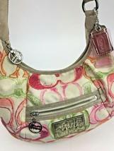Coach Scribble Print Signature Dream C Shoulder Crossbody Bag 16700 Summer - $39.59