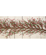 Red and Green Pip Berry Garland - $32.99