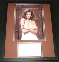 Jamie Lynn Sigler SEXY Signed Framed 11x14 Photo Display The Sopranos - $42.18