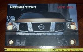 2004 Nissan Titan Brochure First Year - $3.95