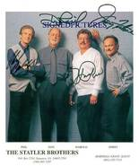 THE STATLER BROTHERS GROUP SIGNED AUTOGRAPHED 8X10 PROMO PHOTO CLASSIC COUNTRY - $16.99