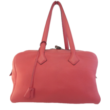 Hermes Rose Jaipur Taurillion Clemence O Square (2011) PHW Victoria II H... - $1,799.00