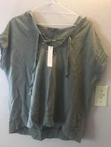 Sanctuary Hooded Womens Casual Shirt Sz Small Sleeveless - €13,35 EUR