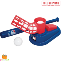 """MLB Baseball Pop A Pitch Fun Outdoor Toy Includes 25"""" Collapsible Plasti... - $32.99"""