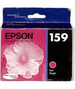 Genuine Epson 159 Red Ink Cartridge T159 T1597 T159720 Stylus Photo R2000 - $8.86