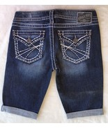 New SILVER Jeans Sale Low Rise Pioneer Flap Pocket Denim Stretch Jean Sh... - $19.97