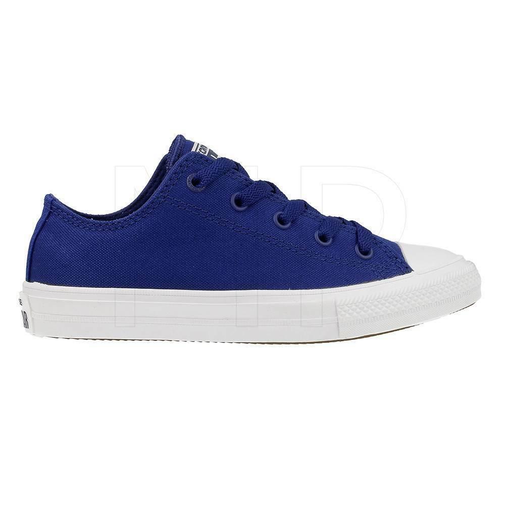 Converse All Star Chuck II Blue 350152C Preschool Shoes